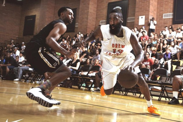 James Harden./ Drew League