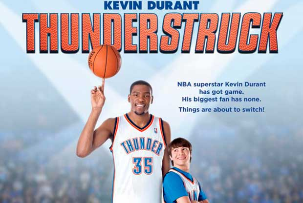 Kevin Durant Thunderstruck