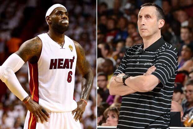 LeBron James y David Blatt / Getty Images