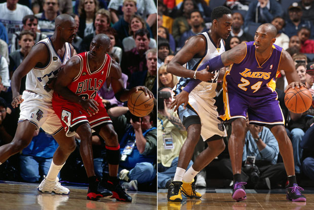 Michael Jordan, Kobe Bryant / Getty Images
