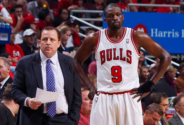 Tom Thibodeau, Luol Deng / Getty Images