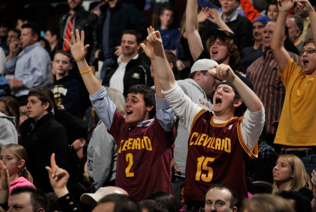 Fans de Cleveland Cavaliers./ Getty Images