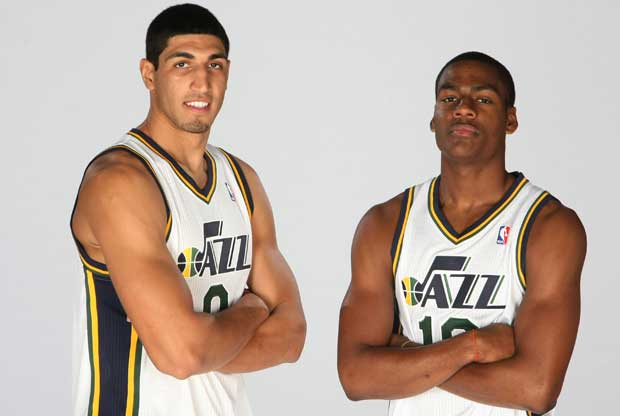 Enes Kanter, Alec Burks / Getty Images