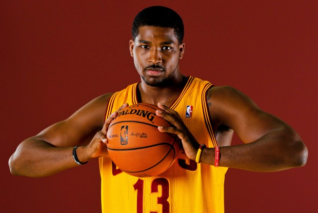 Tristan Thompson en el media day de Cleveland Cavaliers
