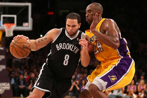Deron Williams y Kobe Bryant./ Getty Images