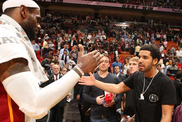LeBron James, Drake / Getty Images