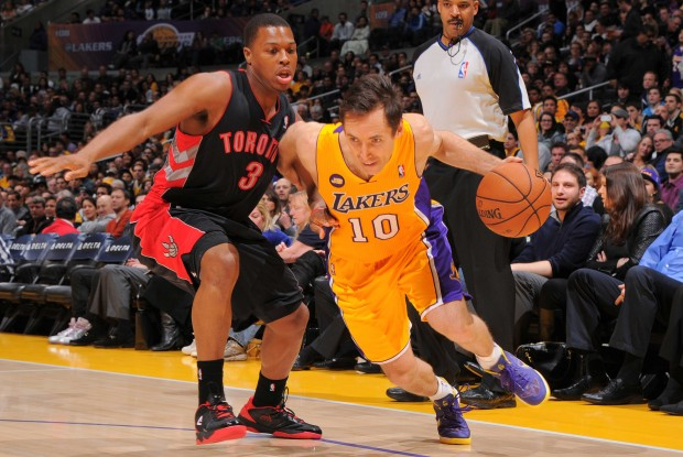 Kyle Lowry y Steve Nash./ Getty Images