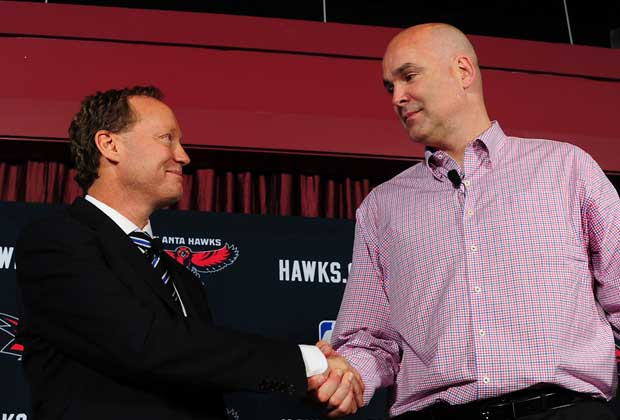 Mike Budenholzer, Danny Ferry / Getty Images