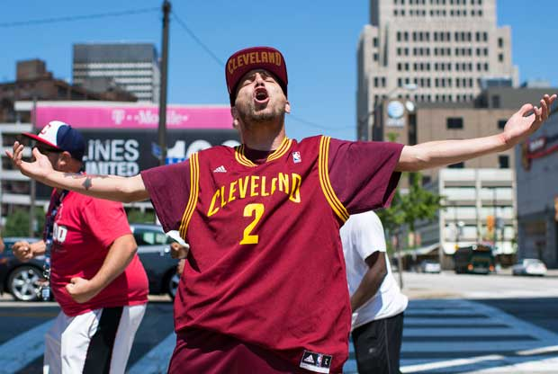 Cleveland Cavaliers fan / Getty Images