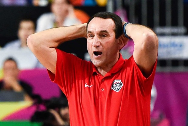 Mike Krzyzewski./ Getty Images