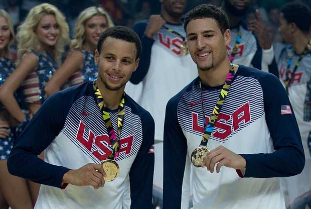Stephen Curry, Klay Thompson / Getty Images