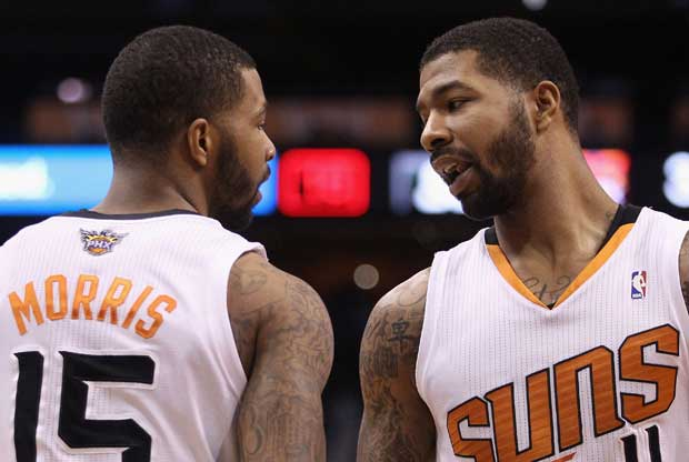 Markieff y Marcus Morris / Getty Images