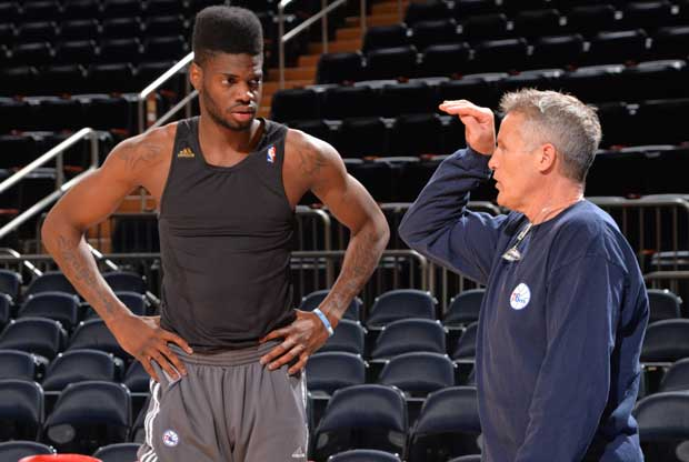 Nerlens Noel, Brett Brown / Getty Images