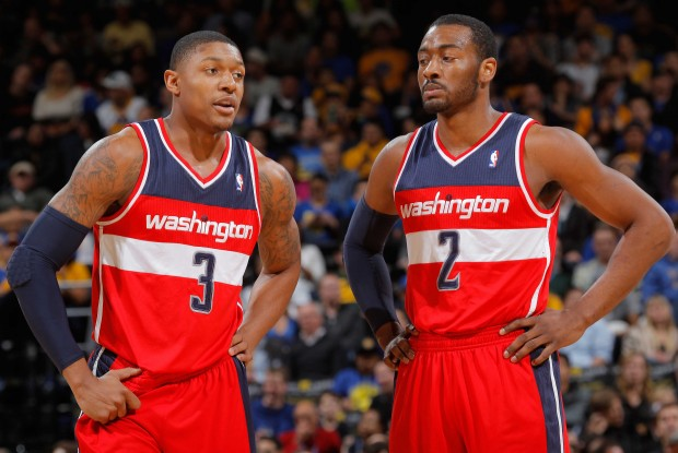 Bradley Beal y John Wall./ Getty Images