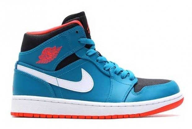 Air Jordan - 1 Mid 'Tropical Teal'
