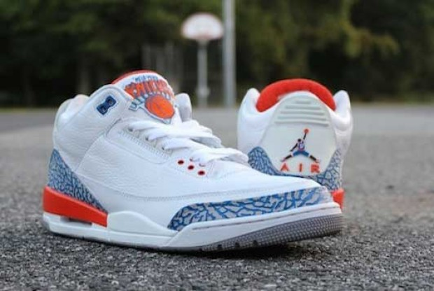 Air Jordan - 3 'Knicks Customs'