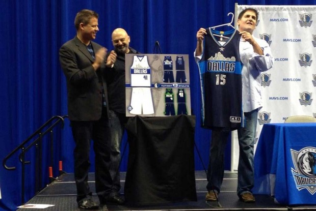 Nuevo uniforme Dallas Mavericks