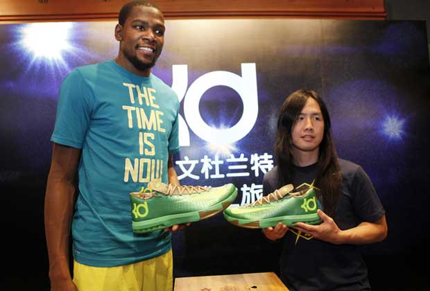 Kevin Durant y Leo Chang / Nike