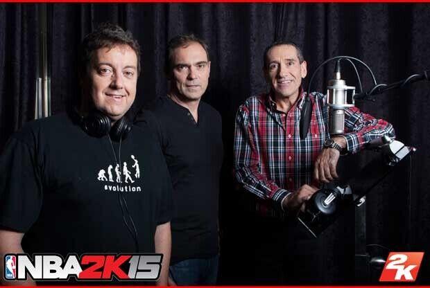 Antoni Daimiel, Jorge Quiroga, Sixto Miguel Serrano / NBA 2K15