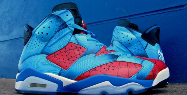 Air Jordan - VI 'Spiderman'
