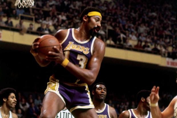 Wilt Chamberlain./ Getty Images