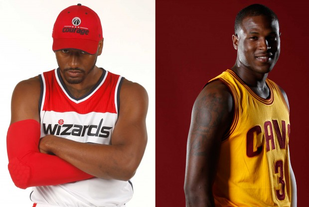 John Wall y Dion Waiters./ Getty Images