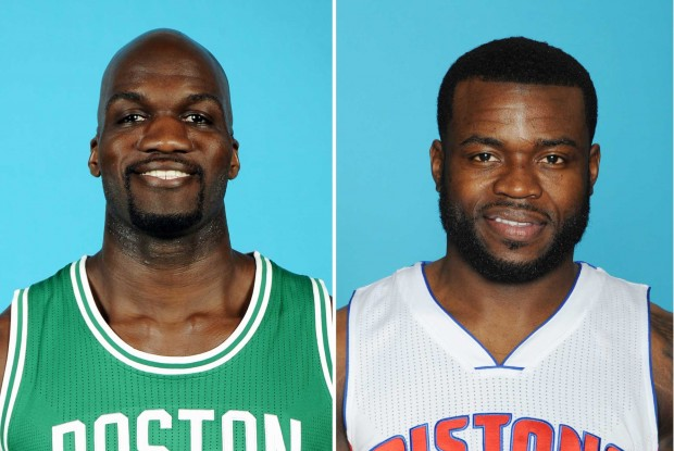 Joel Anthony y Will Bynum./ Getty Images