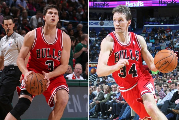 Doug McDermott y Mike Dunleavy Jr./ Getty Images