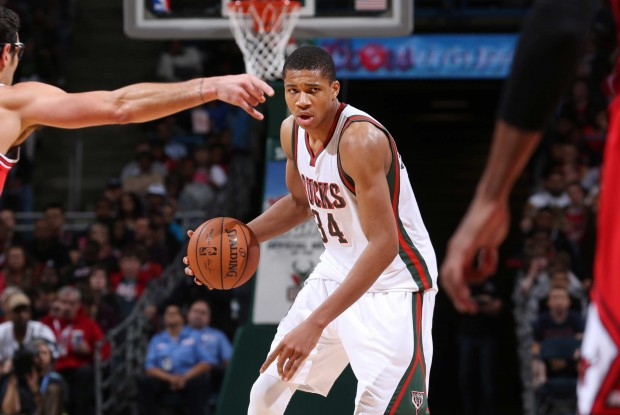 Giannis Antetokounmpo./ Getty Images
