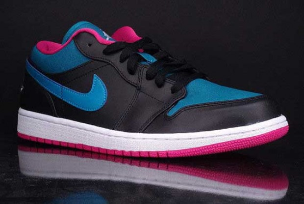 Air Jordan - 1 Low 'Space Blue/Fusion Pink'