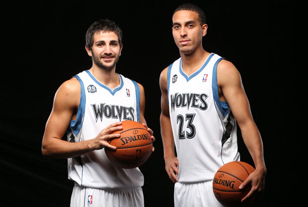 Ricky Rubio y Kevin Martin / Getty Images