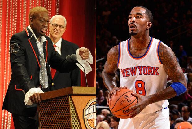 Rodman, Jackson y Smith / Getty Images