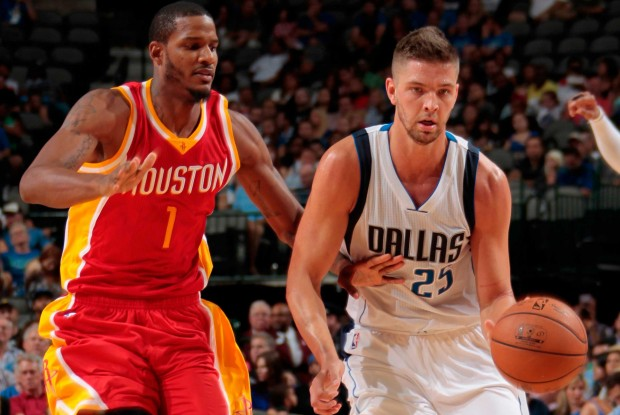 Trevor Ariza y Chandler Parsons./ Getty Images