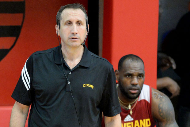David Blatt y LeBron James / Getty Images