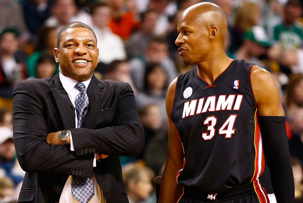 Doc Rivers y Ray Allen / Getty Images