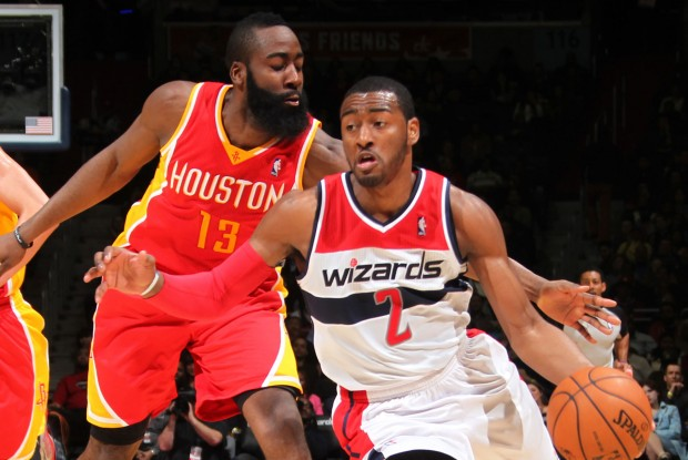 James Harden y John Wall./ Getty Images