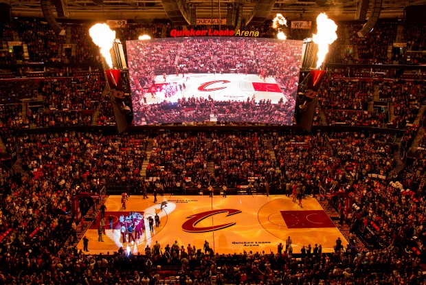 Cancha de Cleveland Cavaliers./ Getty Images