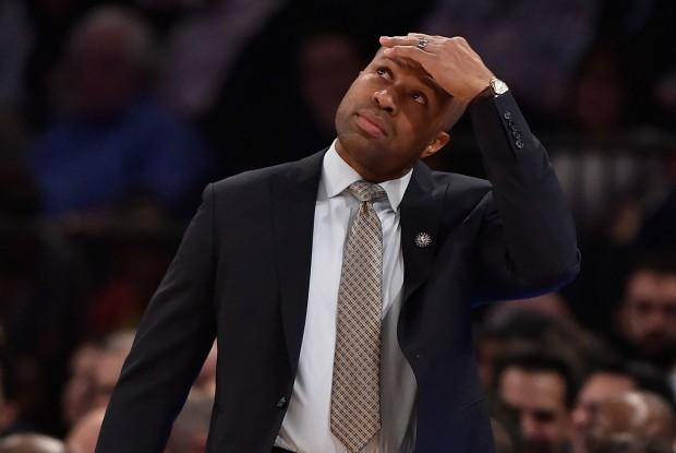 Derek Fisher, despedido como entrenador de New York Knicks
