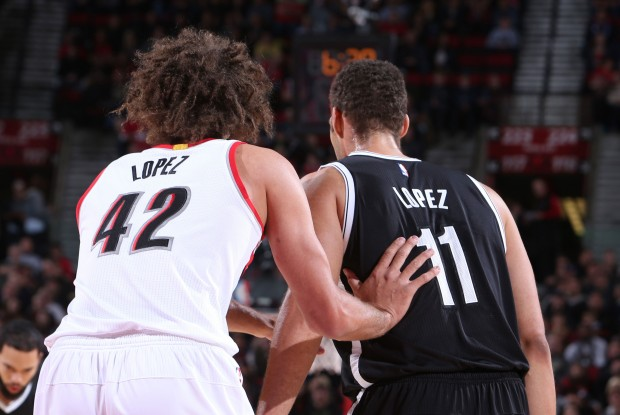 Brook y Robin Lopez./ Getty Images