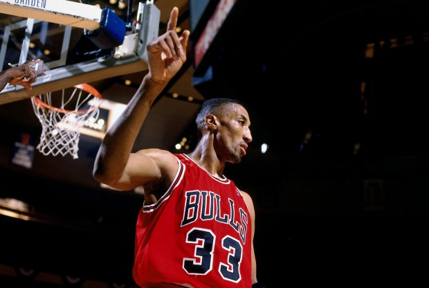 Scottie Pippen, jugador de Chicago Bulls