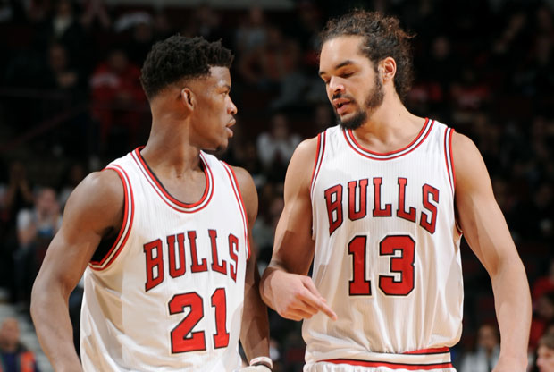 Joakim Noah y Jimmy Butler / Getty Images