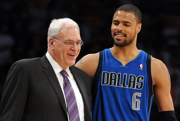 Phil Jackson y Tyson Chandler / Getty Images