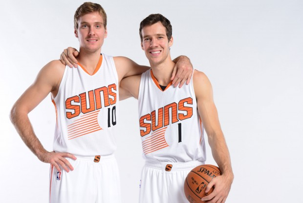 Zoran y Goran Dragic./ Getty Images