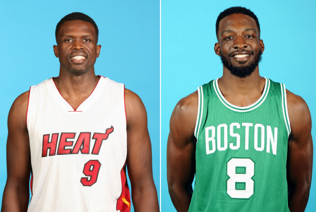 Luol Deng y Jeff Green./ Getty Images