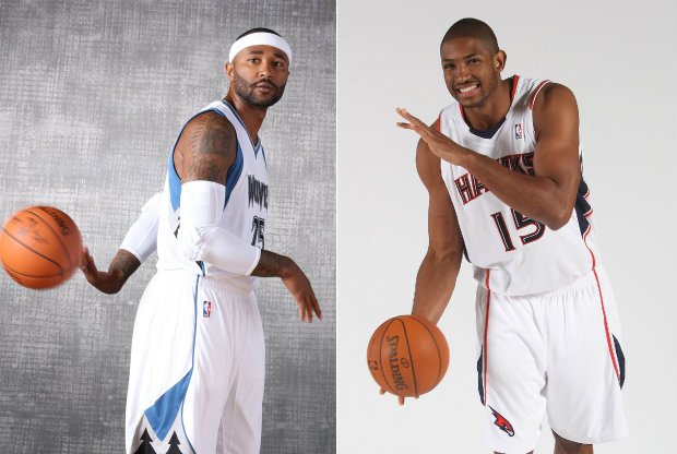 Mo Willaims y Al Horford./ Getty Images