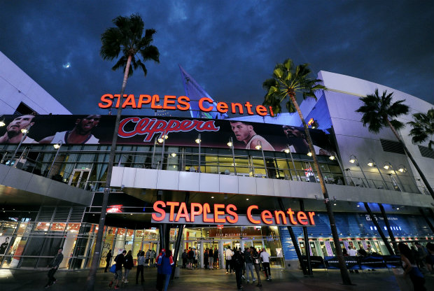 Staples Center, la cancha de Los Angeles Clippers y Los Angeles Lakers