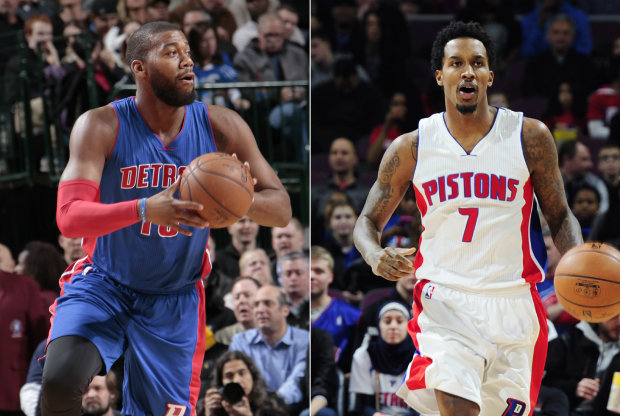Greg Monroe y Brandon Jennings./ Getty Images