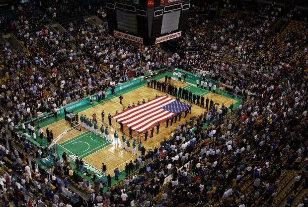 Boston Garden./ Getty Images