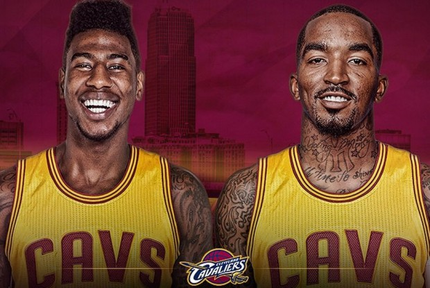 Iman Shumpert y J.R. Smith./ Cleveland Cavaliers