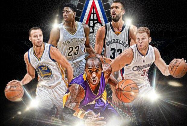 All-Star Game de 2015 - Titulares de la Conferencia Oeste